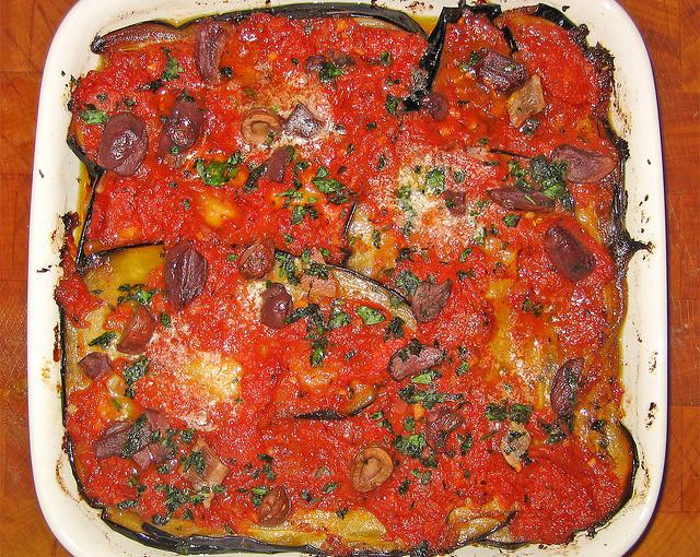 Włoska kuchnia i także lokalne mięso sezonowane